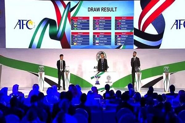 منتخبان عربيان في المستوى الأول لقرعة كأس آسيا 2019