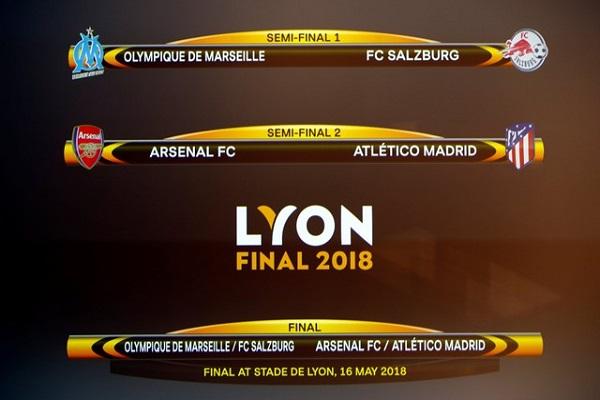 نهائي مبكر بين أرسنال وأتلتيكو مدريد في الدوري الأوروبي