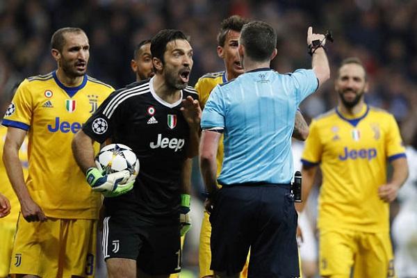 زعيم مافيا تورينو يهدد حكم مباراة يوفنتوس وريال مدريد بالقتل