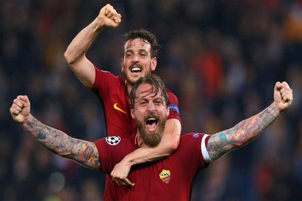 بلغ روما الدور قبل النهائي من البطولة الأوروبية لأول مرة منذ عام 1984