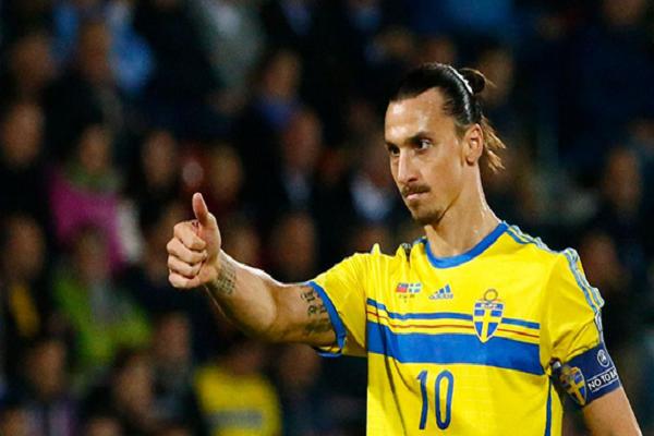 اللاعب االسويدي المخضرم زلاتان إبراهيموفيتش