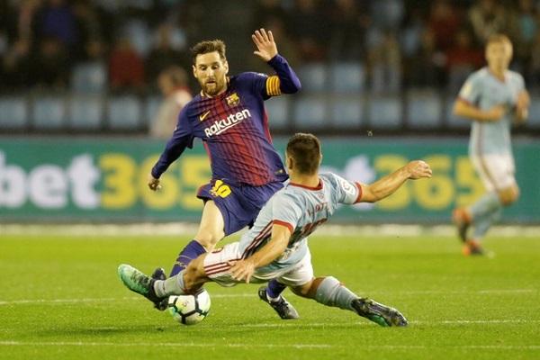 تعادل برشلونة مع مضيفه سلتا فيغو