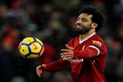 صلاح يحطم رقم ماجر كأفضل هداف عربي في دوري الأبطال
