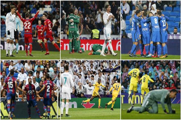 ريال مدريد سجل هذا الموسم اضعف حصيلة فنية على