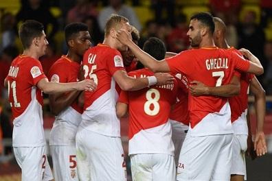 موناكو ينتزع المركز الثاني من ليون في الدوري الفرنسي