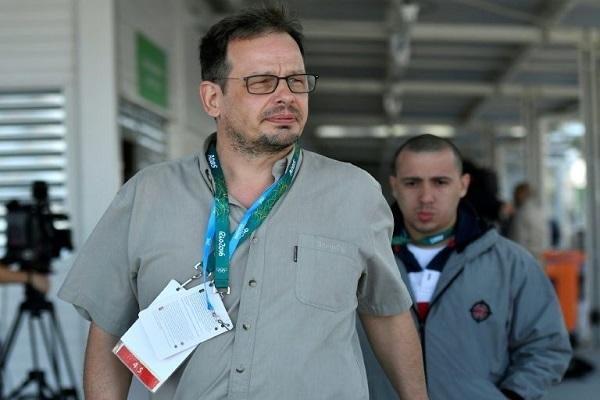 لصحافي الالماني هايو زيبيلت كاشف فضيحة التنشط في الرياضة الروسية