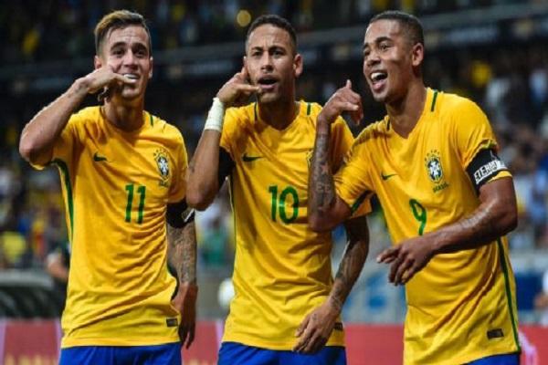 نيمار ضمن تشكيلة برازيلية دون مفاجآت