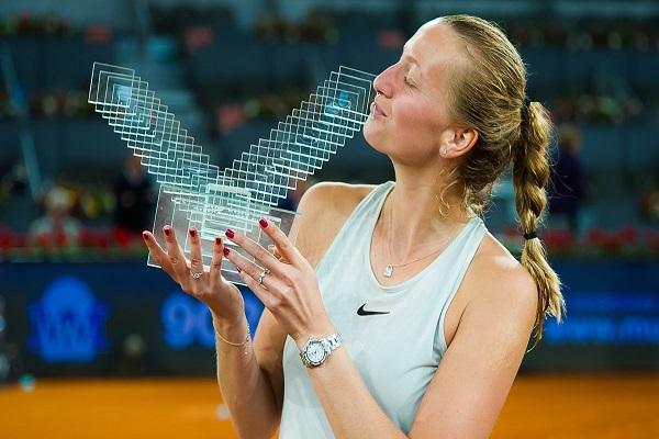 كفيتوفا تتقدم إلى المركز الثامن في تصنيف السيدات