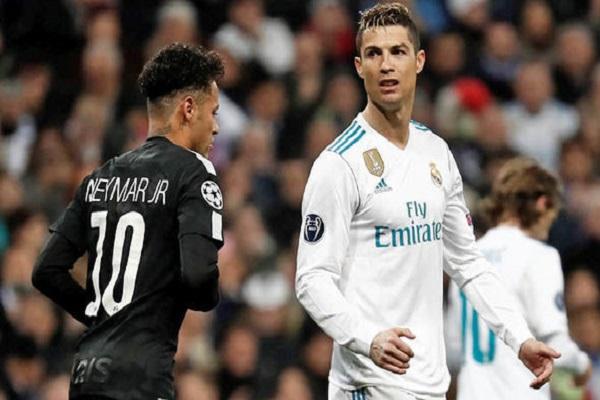 رونالدو يسخر من أخبار انضمام نيمار إلى ريال مدريد