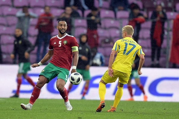 تعادل المغرب وأوكرانيا استعداداً لمونديال روسيا