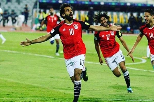محمد صلاح ضمن التشكيلة النهائية لمنتخب مصر