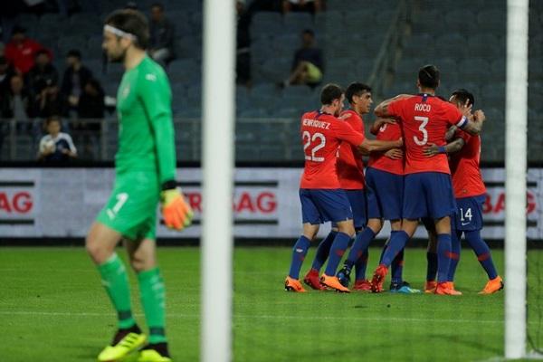 تشيلي تهزم صربيا بهدف قاتل استعدادا للمونديال