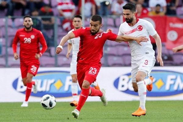التعادل الثاني لتونس ضمن استعدادتها للمونديال