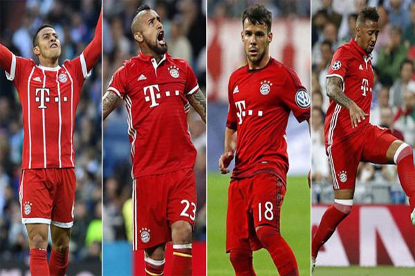 أربعة لاعبين يعتبرون من العناصر الأساسية للفريق مرشحون للرحيل هذا الصيف لأسباب مالية أو فنية