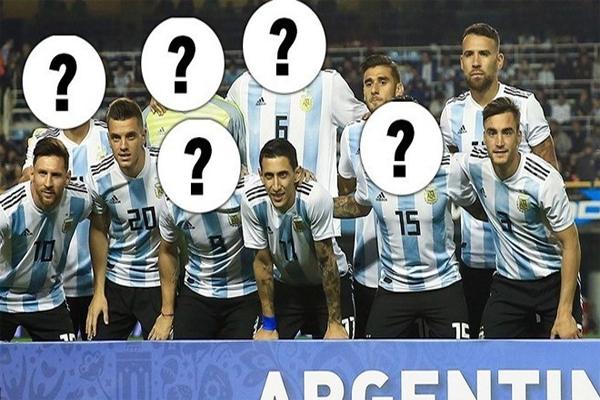 لا يزال المدرب الوطني خورخي سامباولي لم يحدد حتى الآن التشكيلة الأساسية للمنتخب الأرجنتيني