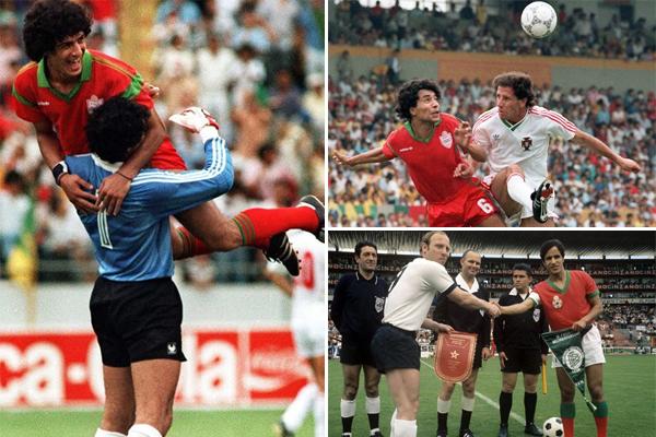 لعب المغاربة خلال مشاركاتهم الأربع السابقة في نهائيات كأس العالم 13 مقابلة، ففازوا في مقابلتين وتعادلوا في أربع وانهزموا في سبع