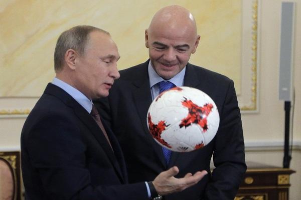 بوتين لا يرشح روسيا لنيل كأس العالم