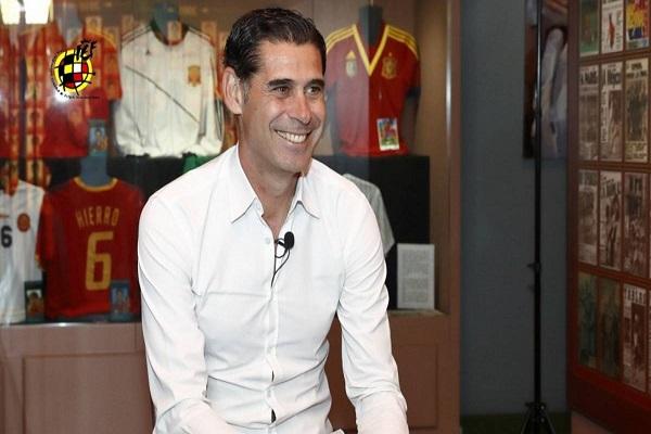 تعيين هييرو مدرباً لإسبانيا خلفا للوبيتيغي المقال