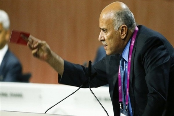 رئيس الاتحاد الفلسطيني لكرة القدم جبريل الرجوب