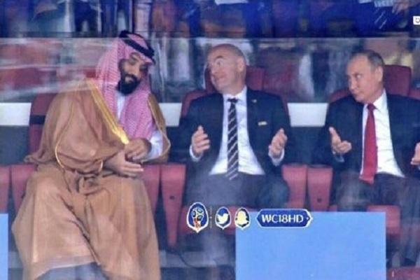 هكذا تفاعل محمد بن سلمان مع أهداف روسيا في شباك السعودية