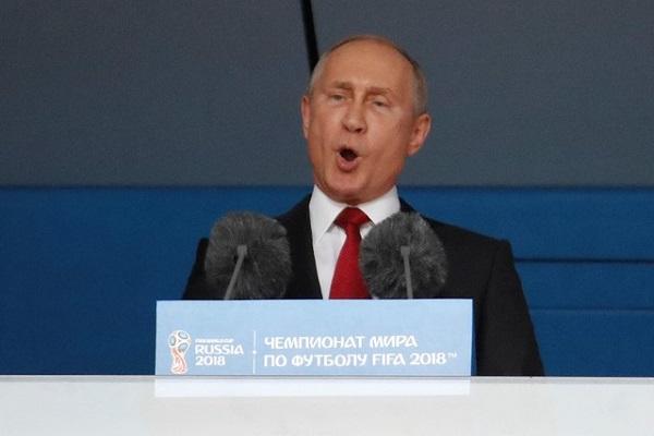 بوتين يعلن افتتاح كأس العالم في روسيا