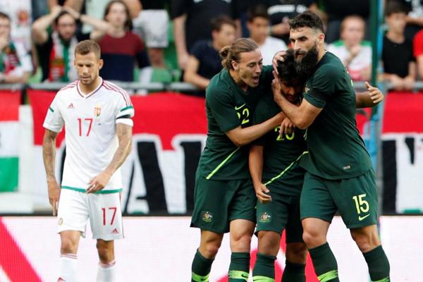 اختتم منتخب استراليا لكرة القدم استعداداته لمونديال 2018 في روسيا بفوز ثان على حساب نظيره ومضيفه المجر
