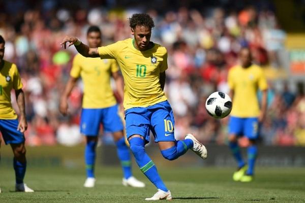 اختبار أخير للبرازيل ونيمار ضد النمسا