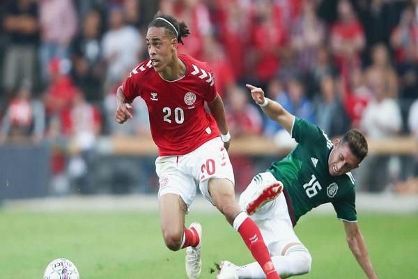 فوز الدنمارك على المكسيك استعدادا للمونديال