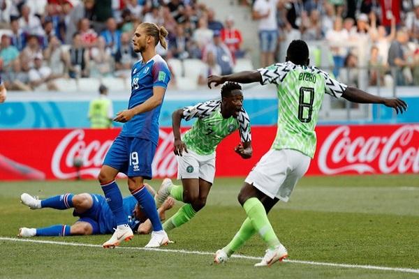 نيجيريا تتخطى أيسلندا وتعزز حظوظها بالتأهل