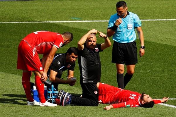 الإصابة تنهي مشوار برون وبن يوسف مع تونس