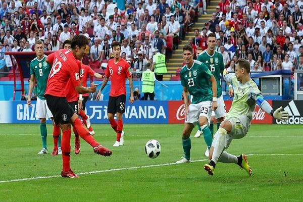 أرقام سلبية لألمانيا في خسارتها أمام كوريا الجنوبية