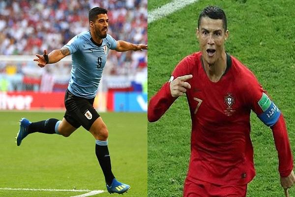 البرتغال-الأوروغواي أكثر من سواريز-رونالدو