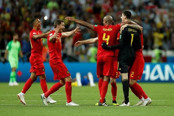 3 لاعبين من بلجيكا في التشكيلة المثالية لربع نهائي كأس العالم