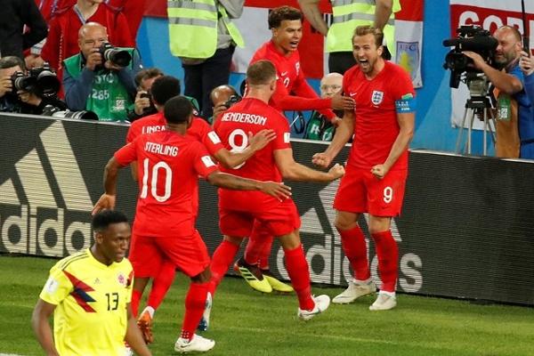 إنكلترا تتخطى كولومبيا بصعوبة وتواجه السويد في ربع نهائي مونديال روسيا