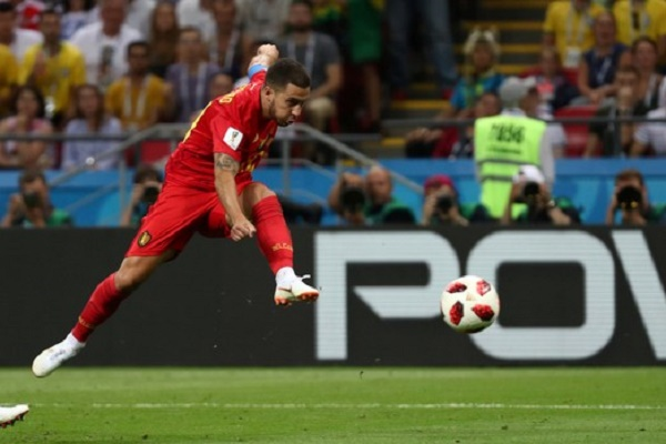 تألق هازارد في المونديال يقربه من ريال مدريد