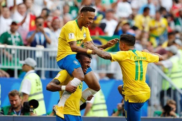 نيمار ينقذ البرازيل أمام المكسيك
