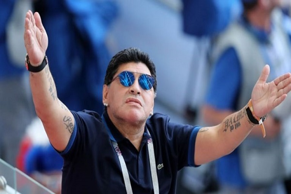 الفيفا يدين بشدة انتقادات مارادونا بشأن التحكيم