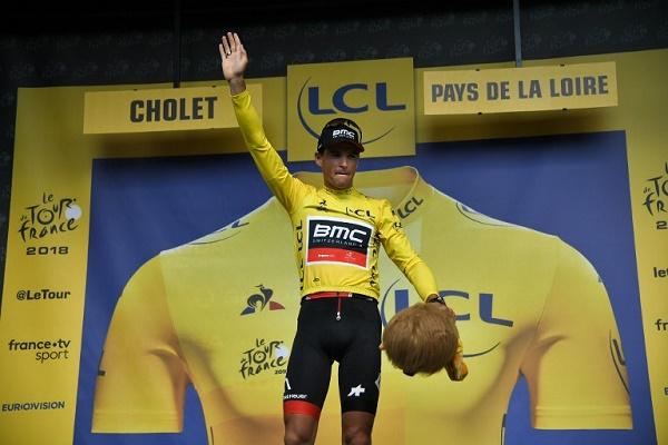 القميص الأصفر للبلجيكي فان افرمايت في طواف فرنسا