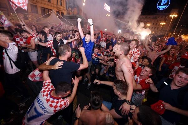 فرحة عارمة في كرواتيا بعد تحقيق
