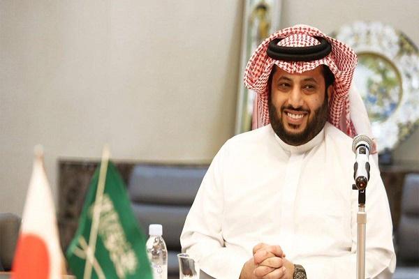 رئيس الهيئة العامة للرياضة السعودية تركي آل الشيخ