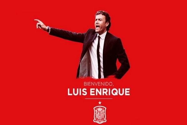 لويس انريكي مدربا جديدا لمنتخب اسبانيا