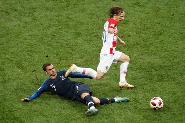 مباراة فرنسا وكرواتيا في نهائي المونديال بالأرقام