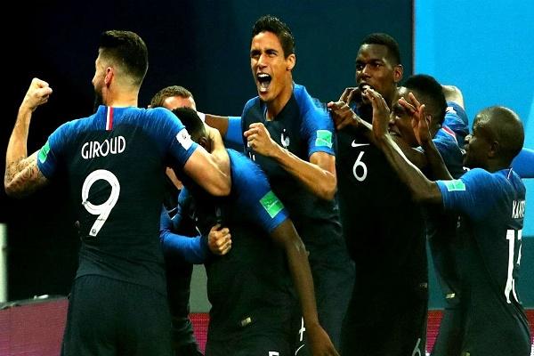 أفضل 5 لاعبين ساهموا بوصول فرنسا لنهائي المونديال