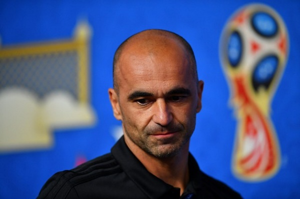 المدرب الاسباني للمنتخب البلجيكي لكرة القدم روبرتو مارتينيز