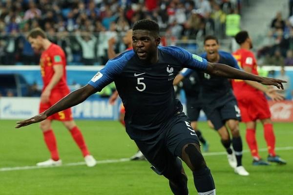 أرقام من فوز فرنسا على بلجيكا في نصف نهائي كأس العالم