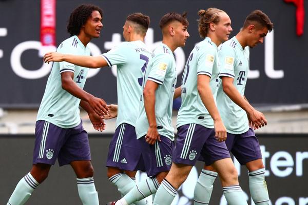 فاز بايرن ميونيخ بطل المانيا على باريس سان جرمان بطل فرنسا 3-1