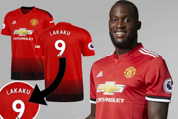 تمت كتابة سم اللاعب البلجيكي صاحب القميص رقم 9 بالخطأ ليصبح