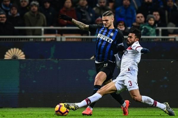 بولونيا يزيد محن إنتر ميلان في الدوري الإيطالي