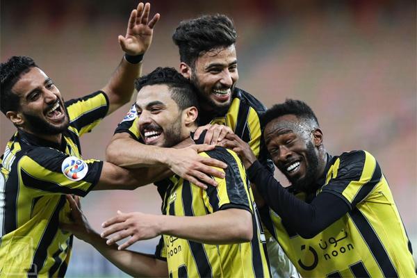 حقق الاتحاد السعودي فوزا كبيرا على ضيفه الريان القطري 5-1