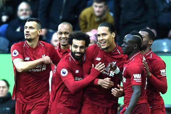 ليفربول يبقي آماله حتى المرحلة الأخيرة